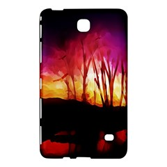 Fall Forest Background Samsung Galaxy Tab 4 (7 ) Hardshell Case