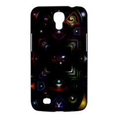 Geometric Line Art Background In Multi Colours Samsung Galaxy Mega 6.3  I9200 Hardshell Case