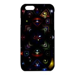 Geometric Line Art Background In Multi Colours iPhone 6/6S TPU Case