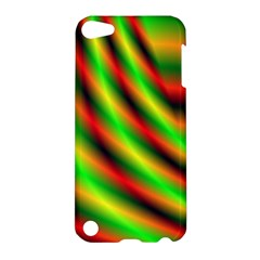 Neon Color Fractal Lines Apple Ipod Touch 5 Hardshell Case