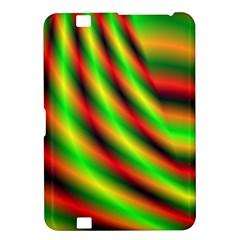 Neon Color Fractal Lines Kindle Fire HD 8.9