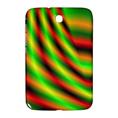 Neon Color Fractal Lines Samsung Galaxy Note 8 0 N5100 Hardshell Case