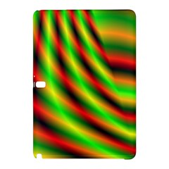 Neon Color Fractal Lines Samsung Galaxy Tab Pro 10.1 Hardshell Case