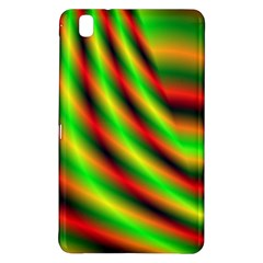 Neon Color Fractal Lines Samsung Galaxy Tab Pro 8.4 Hardshell Case