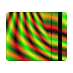 Neon Color Fractal Lines Samsung Galaxy Tab Pro 8.4  Flip Case