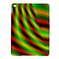 Neon Color Fractal Lines iPad Air 2 Hardshell Cases