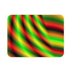 Neon Color Fractal Lines Double Sided Flano Blanket (Mini)