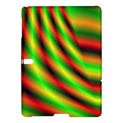 Neon Color Fractal Lines Samsung Galaxy Tab S (10.5 ) Hardshell Case