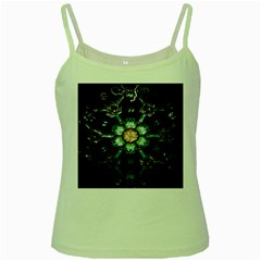 Kaleidoscope With Bits Of Colorful Translucent Glass In A Cylinder Filled With Mirrors Green Spaghetti Tank
