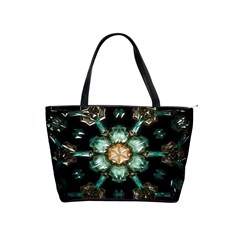 Kaleidoscope With Bits Of Colorful Translucent Glass In A Cylinder Filled With Mirrors Shoulder Handbags