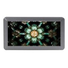 Kaleidoscope With Bits Of Colorful Translucent Glass In A Cylinder Filled With Mirrors Memory Card Reader (Mini)