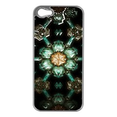 Kaleidoscope With Bits Of Colorful Translucent Glass In A Cylinder Filled With Mirrors Apple iPhone 5 Case (Silver)