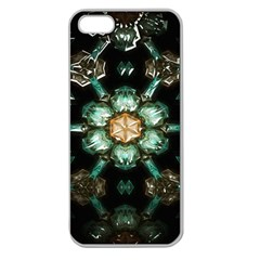 Kaleidoscope With Bits Of Colorful Translucent Glass In A Cylinder Filled With Mirrors Apple Seamless Iphone 5 Case (clear)