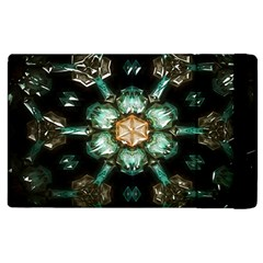 Kaleidoscope With Bits Of Colorful Translucent Glass In A Cylinder Filled With Mirrors Apple iPad 2 Flip Case