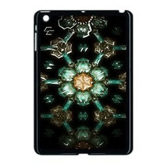 Kaleidoscope With Bits Of Colorful Translucent Glass In A Cylinder Filled With Mirrors Apple iPad Mini Case (Black)