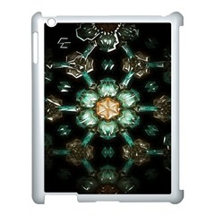Kaleidoscope With Bits Of Colorful Translucent Glass In A Cylinder Filled With Mirrors Apple iPad 3/4 Case (White)