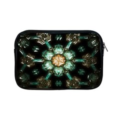 Kaleidoscope With Bits Of Colorful Translucent Glass In A Cylinder Filled With Mirrors Apple iPad Mini Zipper Cases