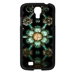 Kaleidoscope With Bits Of Colorful Translucent Glass In A Cylinder Filled With Mirrors Samsung Galaxy S4 I9500/ I9505 Case (Black)