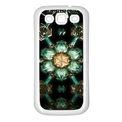 Kaleidoscope With Bits Of Colorful Translucent Glass In A Cylinder Filled With Mirrors Samsung Galaxy S3 Back Case (White)