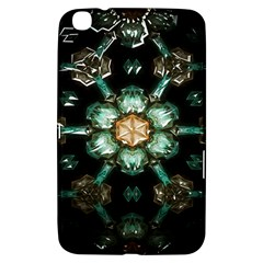 Kaleidoscope With Bits Of Colorful Translucent Glass In A Cylinder Filled With Mirrors Samsung Galaxy Tab 3 (8 ) T3100 Hardshell Case