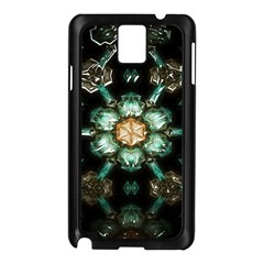 Kaleidoscope With Bits Of Colorful Translucent Glass In A Cylinder Filled With Mirrors Samsung Galaxy Note 3 N9005 Case (Black)