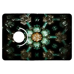 Kaleidoscope With Bits Of Colorful Translucent Glass In A Cylinder Filled With Mirrors Kindle Fire HDX Flip 360 Case
