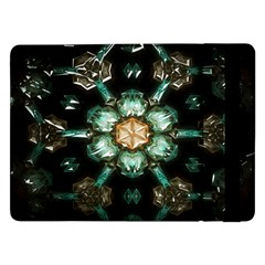 Kaleidoscope With Bits Of Colorful Translucent Glass In A Cylinder Filled With Mirrors Samsung Galaxy Tab Pro 12.2  Flip Case