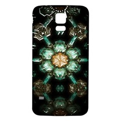 Kaleidoscope With Bits Of Colorful Translucent Glass In A Cylinder Filled With Mirrors Samsung Galaxy S5 Back Case (White)