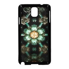 Kaleidoscope With Bits Of Colorful Translucent Glass In A Cylinder Filled With Mirrors Samsung Galaxy Note 3 Neo Hardshell Case (Black)