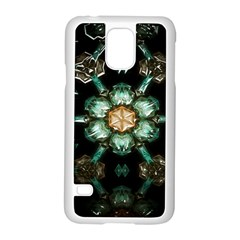 Kaleidoscope With Bits Of Colorful Translucent Glass In A Cylinder Filled With Mirrors Samsung Galaxy S5 Case (white)