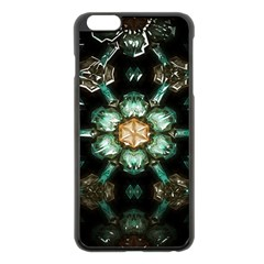 Kaleidoscope With Bits Of Colorful Translucent Glass In A Cylinder Filled With Mirrors Apple iPhone 6 Plus/6S Plus Black Enamel Case