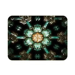 Kaleidoscope With Bits Of Colorful Translucent Glass In A Cylinder Filled With Mirrors Double Sided Flano Blanket (Mini)