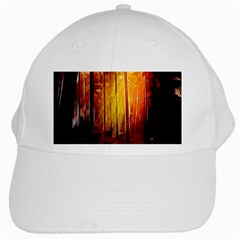 Artistic Effect Fractal Forest Background White Cap