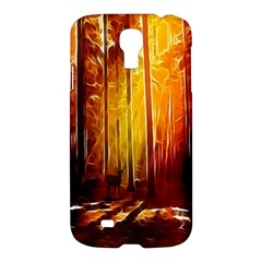 Artistic Effect Fractal Forest Background Samsung Galaxy S4 I9500/I9505 Hardshell Case