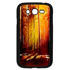 Artistic Effect Fractal Forest Background Samsung Galaxy Grand DUOS I9082 Case (Black)