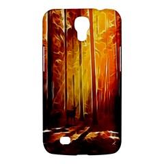 Artistic Effect Fractal Forest Background Samsung Galaxy Mega 6.3  I9200 Hardshell Case