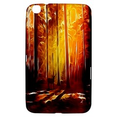 Artistic Effect Fractal Forest Background Samsung Galaxy Tab 3 (8 ) T3100 Hardshell Case