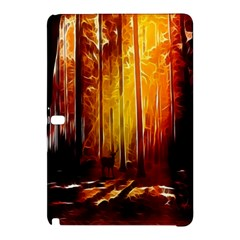 Artistic Effect Fractal Forest Background Samsung Galaxy Tab Pro 12 2 Hardshell Case