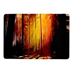 Artistic Effect Fractal Forest Background Samsung Galaxy Tab Pro 10.1  Flip Case