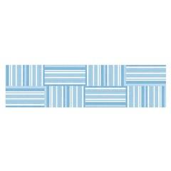 Pattern Satin Scarf (Oblong)
