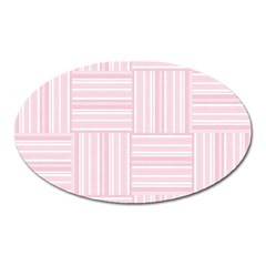 Pattern Oval Magnet