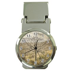 Ceiba Tree At Dry Forest Guayas District   Ecuador Money Clip Watches