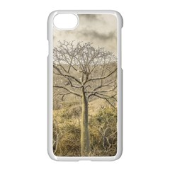 Ceiba Tree At Dry Forest Guayas District   Ecuador Apple Iphone 7 Seamless Case (white)