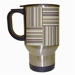Pattern Travel Mugs (White)