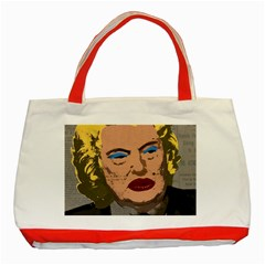 Happy Birthday Mr. President  Classic Tote Bag (Red)