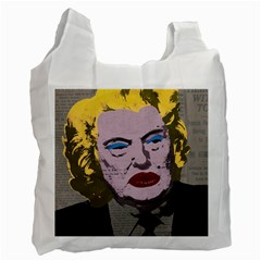 Happy Birthday Mr. President  Recycle Bag (Two Side)
