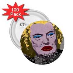 Happy Birthday Mr. President  2.25  Buttons (100 pack)