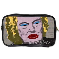 Happy Birthday Mr. President  Toiletries Bags 2-Side