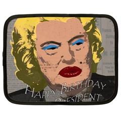 Happy Birthday Mr. President  Netbook Case (XXL)