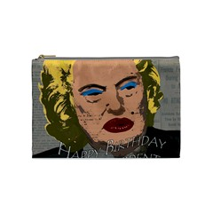 Happy Birthday Mr. President  Cosmetic Bag (Medium)